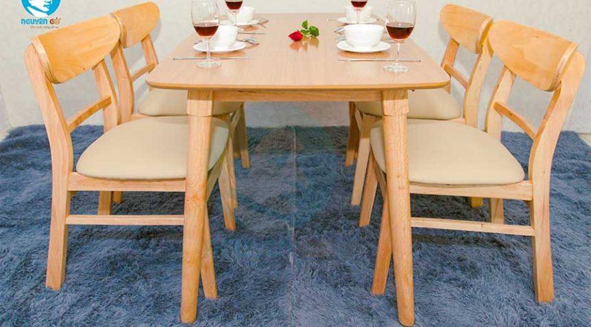 """3 Kinh nghiệm """"vàng"""" giúp chọn lựa nội thất gỗ phòng ăn chuẩn nhất"""